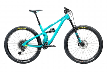 velo tout suspendu yeti cycles sb5 5c carbone 29 sram x01 eagle 12v bleu m 170 180 cm