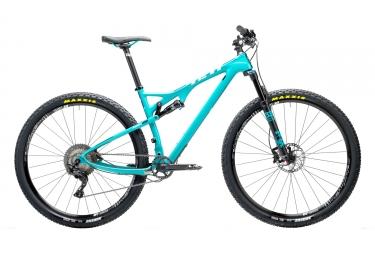 velo tout suspendu yeti cycles asrc carbone 29 shimano xt m8000 11v bleu m 170 180 cm