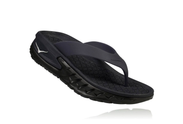 Hoka Ora Recovery Flip Recovery Shoes Black