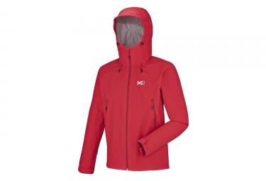 veste millet fitz roy 2 5l rouge m