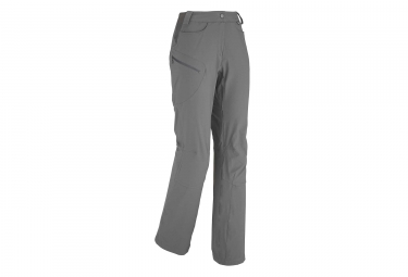 Pantalon femme millet ld trekker stretch gris 36