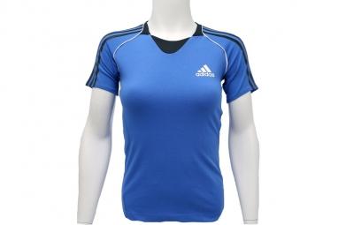 T shirt adidas pres s s tee g85920 femme t shirt bleu 38