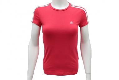 Adidas Ess 3 S Tee Z35867 Femme T-shirt Rouge
