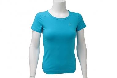 Adidas ess tee o59845 femme t shirt bleu 38