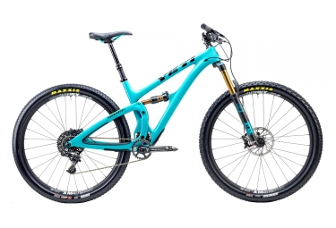 velo tout suspendu yeti cycles sb4 5 turq 29 sram gx 11v bleu m 170 180 cm