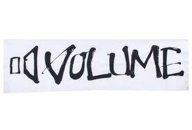 Volume Logo Banner Black White