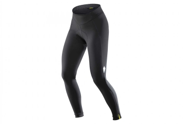 cuissard long sans bretelles femme mavic sequence thermo tight noir l