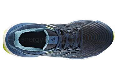 Chaussures de Running adidas running Energy Boost Bleu / Jaune / Fluo