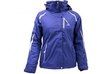 Salomon Slope Jacket W371831 Femme Veste Violet