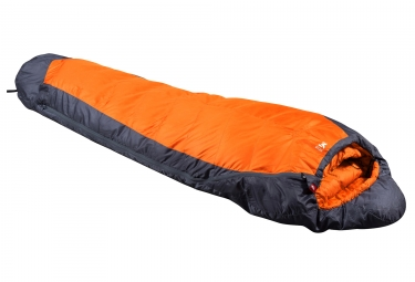 Millet Baikal Summiter Reg Left Sleeping Bag Orange Grey