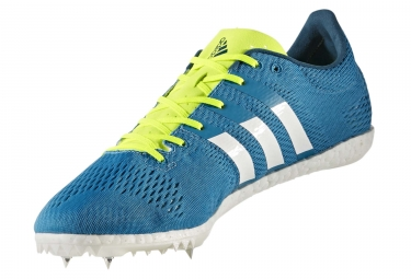 adidas running adizero avanti bleu turquoise jaune neon homme 45 1 3