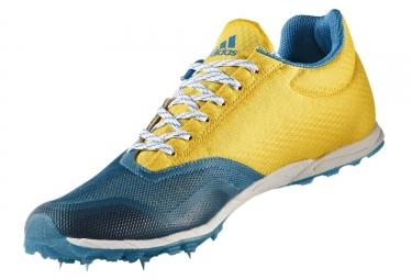 adidas running xcs bleu turquoise jaune homme 41 1 3