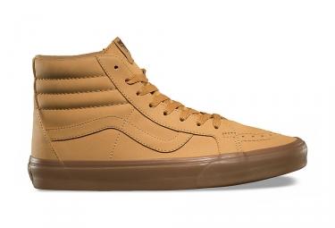 Chaussures vans vansbuck sk8 hi reissue marron 40