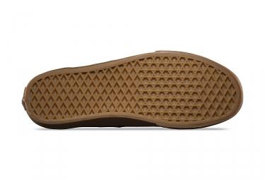 chaussures vans era marron 43
