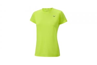 Mizuno Impulse Core camiseta mujer amarillo