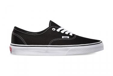 vans paire de chaussures authentic noir 42