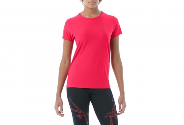 Maillot Manches Courtes Femme Asics Top Rose