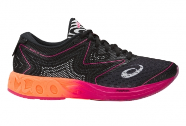 Chaussures de Triathlon Femme Asics Noosa FF Noir / Orange / Rose