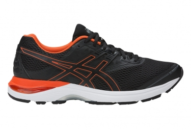 Asics gel pulse 9 noir rouge 40 1 2
