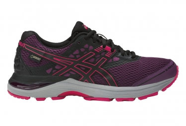 Asics Gel Pulse 9 GTX Purple Black Mujer
