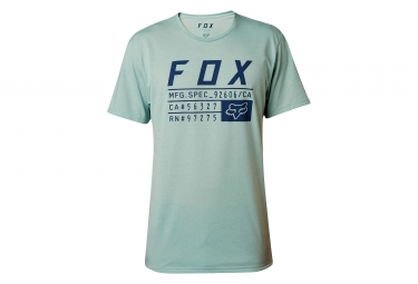 t shirt technique fox abyssmal vert clair l