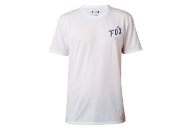 t shirt technique fox currently blanc xl