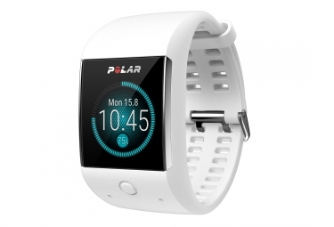 Montre de sport connectee polar m600 blanc
