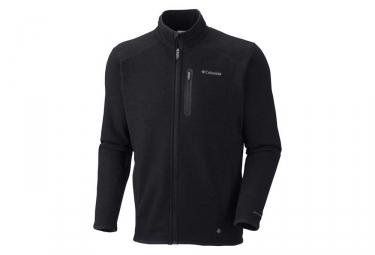 Columbia Altitude Aspect Full Zip Fleece Black
