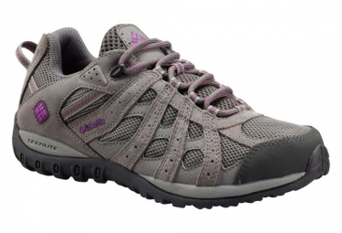chaussures impermeable femme columbia redmond gris 39