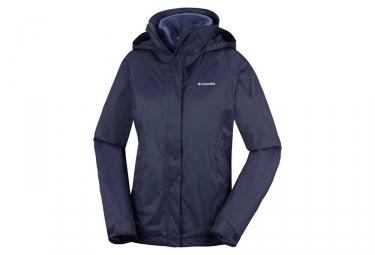 Columbia Venture On Interchange Women Jacket Blue