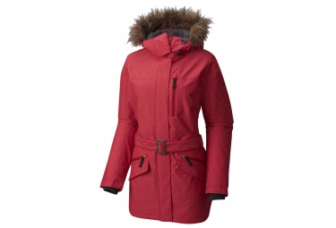 parka femme columbia carson pass ii rouge s