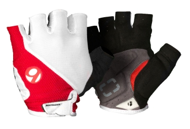 BONTRAGER Gants Race Gel Blanc/Rouge