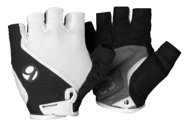 bontrager gants race gel blanc noir l