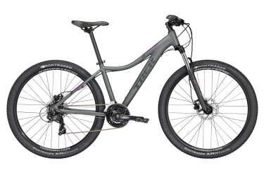 vtt semi rigide femme trek 2018 skye s wsd 29 shimano tourney 7v dark grey purple 17 pouces 162 172 cm