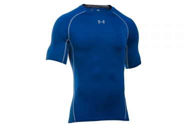 Under Armour Heatgear Compression T-Shirt Blue