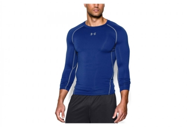 Under Armour Heatgear Compression Long Sleeve Jersey Blue