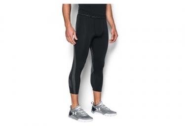 Collant 3/4 de Compression Under Armour Heatgear Supervent 2.0 Noir