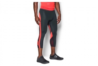 Collant 3/4 de Compression Under Armour Heatgear Supervent 2.0 Gris