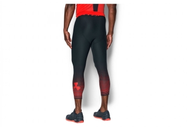 Collant 3/4 de Compression Under Armour Heatgear Armour Graphic Gris