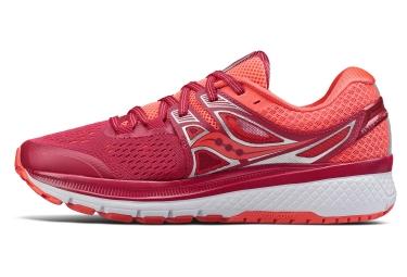 Chaussures de Running Femme Saucony Triumph Iso 3 Rouge