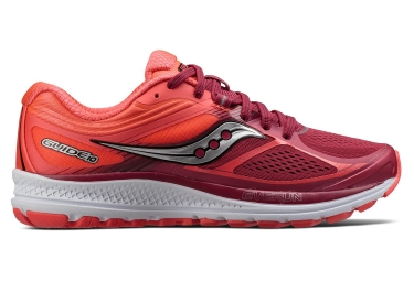 saucony guide 10 femme rouge 36