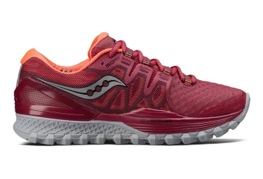 Saucony Xodus Iso 2 Donna Rosso