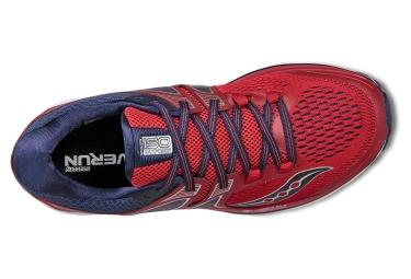 Chaussures de Running Saucony Triumph Iso 3 Rouge / Bleu