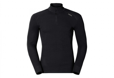 Maillot manches longues 1/4 Zip Odlo Active Warm Originals Noir