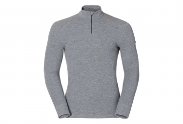 ODLO Warm Zip Mid-Layer Grey