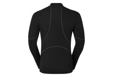 ODLO X-Warm Zip Baselayer Black