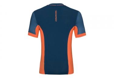 Maillot ODLO Smart Ceramicool Imprime Bleu Orange