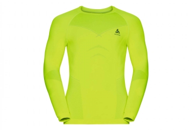 Sous maillot odlo evolution warm jaune xl