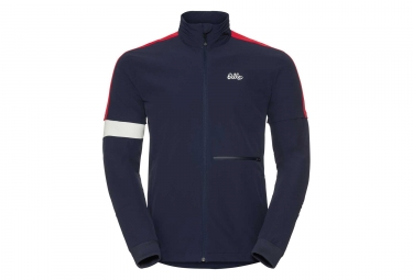 Veste coupe vent odlo pal bleu rouge xl