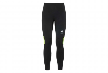 Odlo XC Long Tight Black Neon Yellow